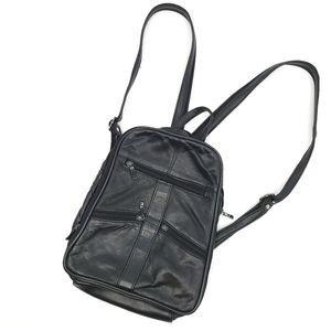 Unbranded Leather Backpack Sling bag